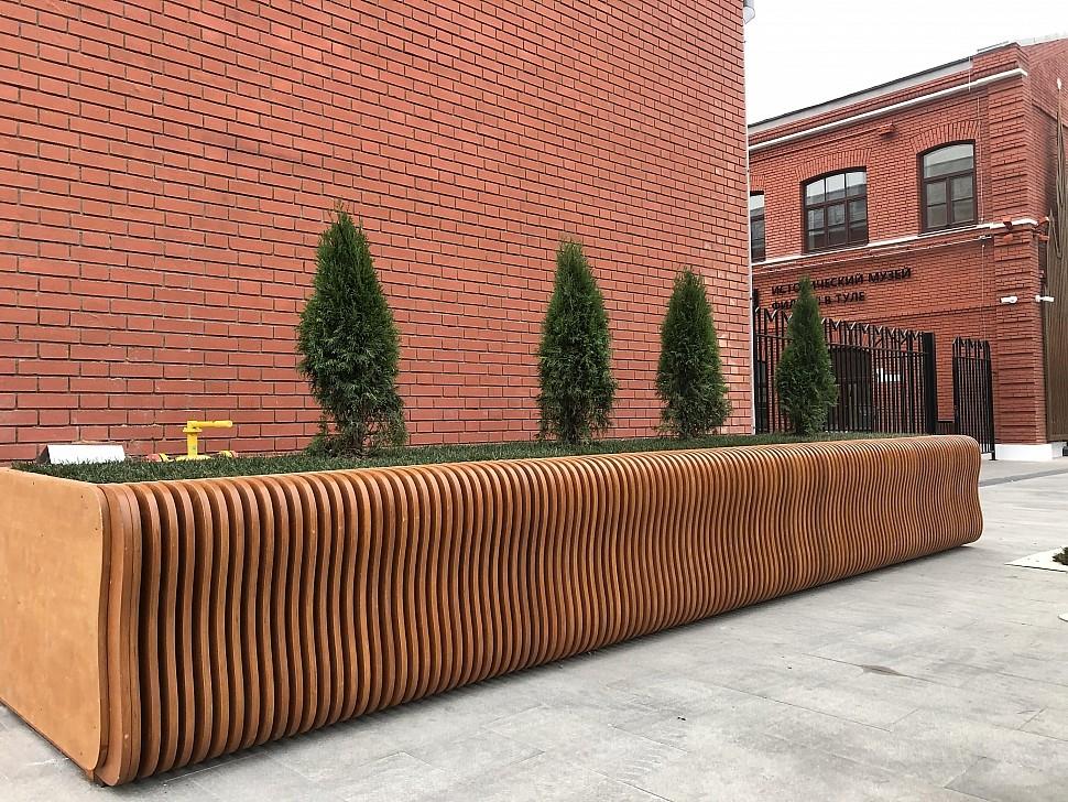 Параметрическая уличная мебель (МАФ 19)