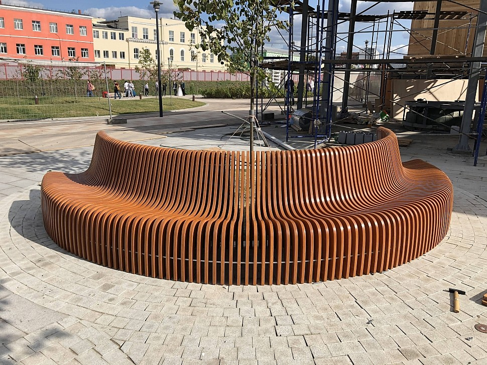 Параметрическая уличная мебель (МАФ 1)