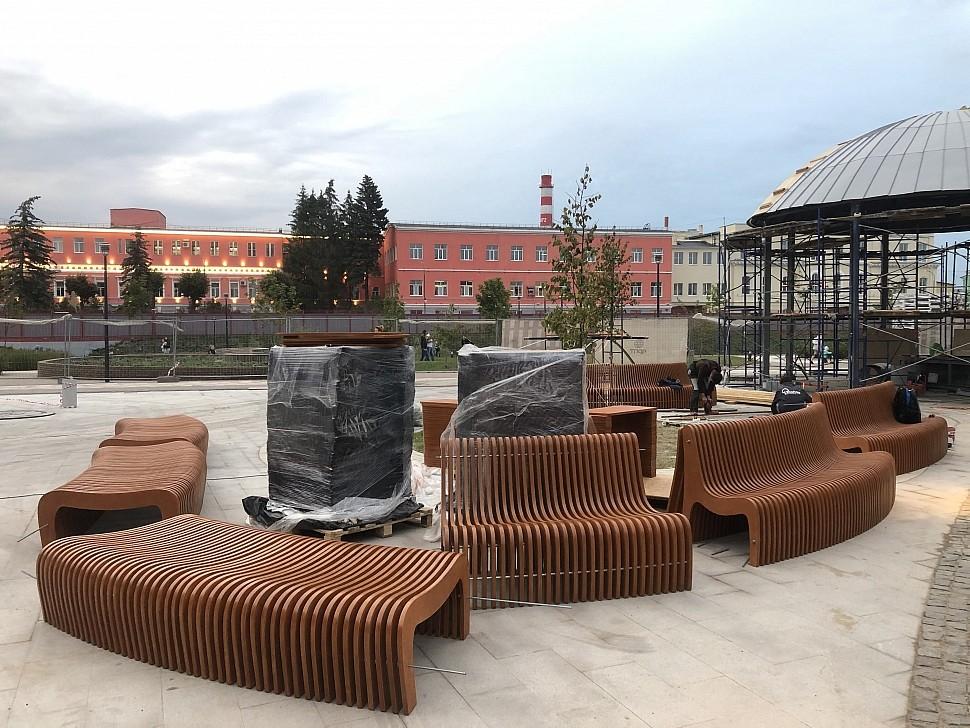 Параметрическая уличная мебель (МАФ 3)