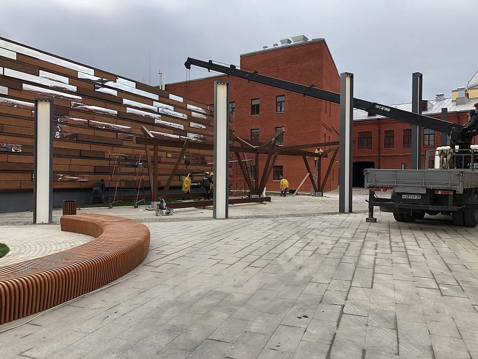 Параметрическая уличная мебель (МАФ 7)