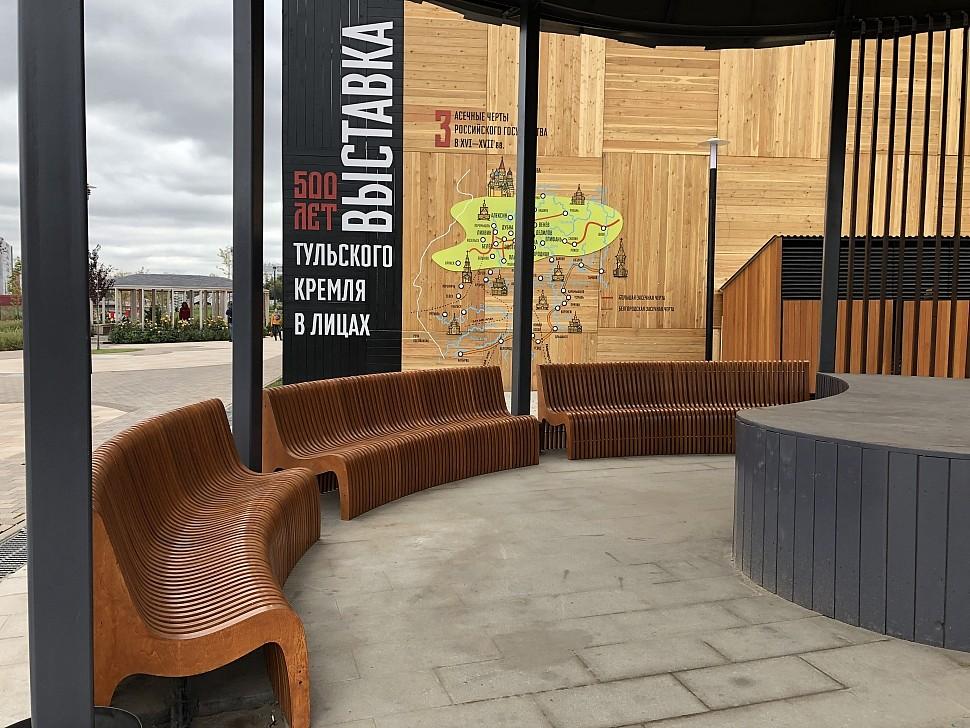 Параметрическая уличная мебель (МАФ 8)