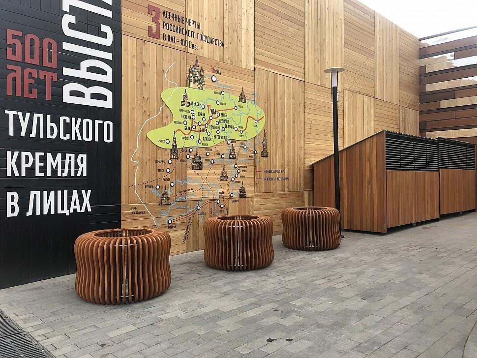 Параметрическая уличная мебель (МАФ 14)