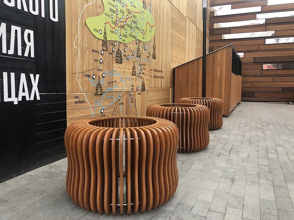 Параметрическая уличная мебель (МАФ 15)