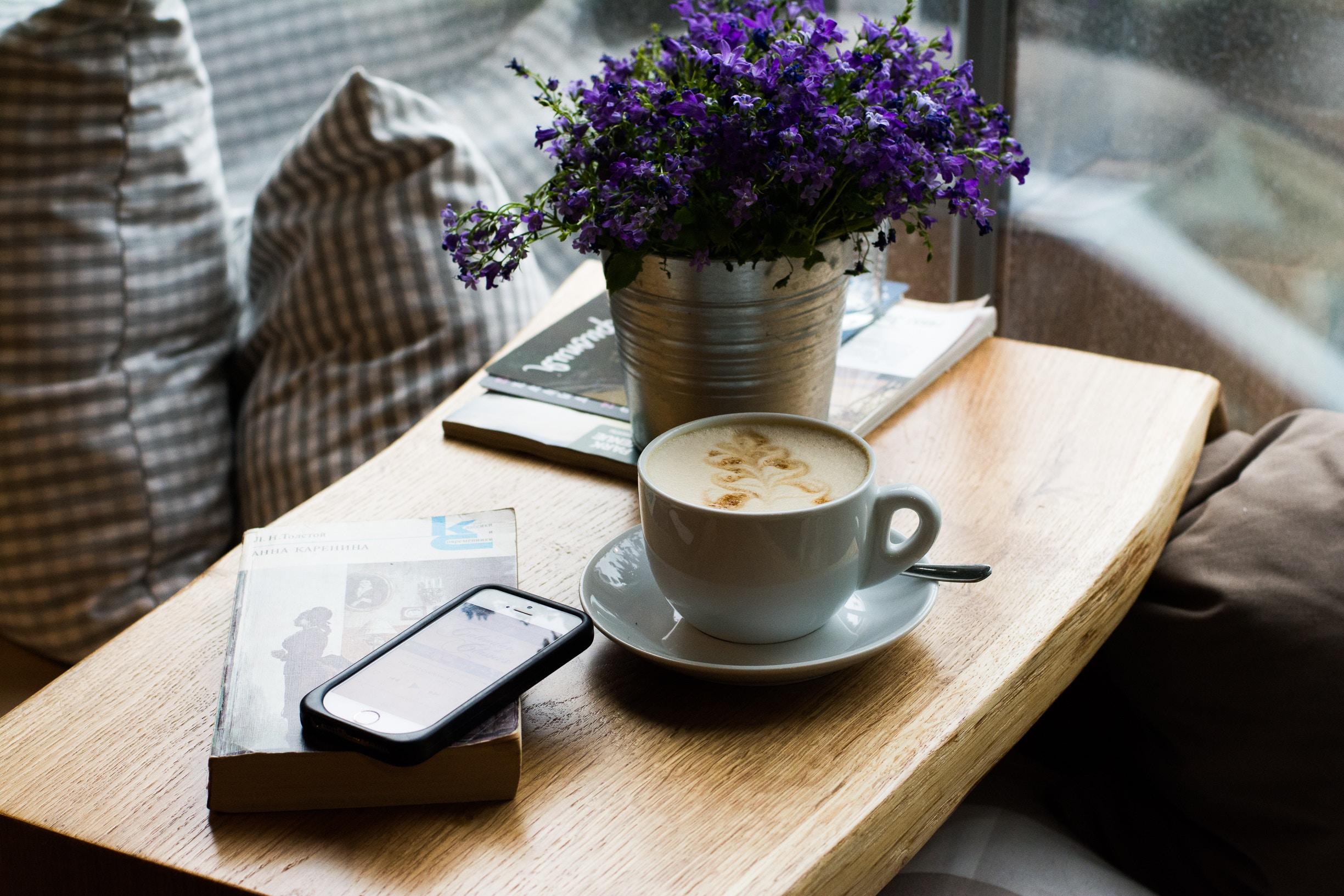 всю жизнь фото утреннего кофе на столе свадебной церемонии